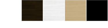 Anodized Plus® Colors - white, bronze, silver, champagne, and black